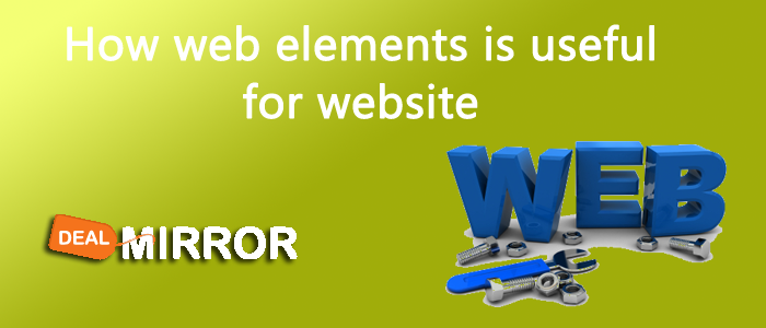 How web elements is useful for website