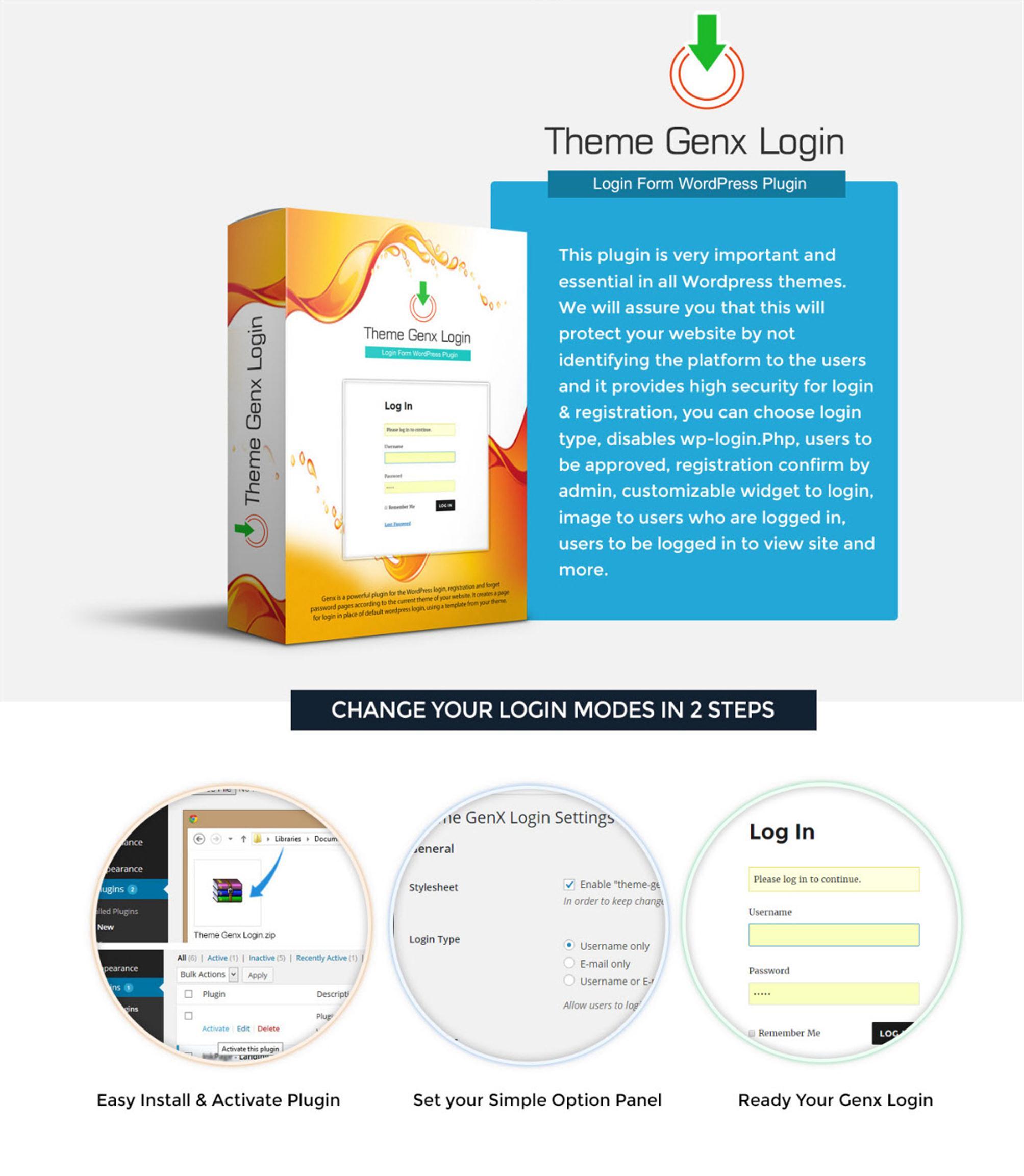 ThemeGenX (Custom)