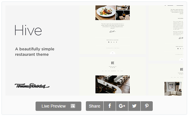 5 best Restaurant WordPress Themes 2016