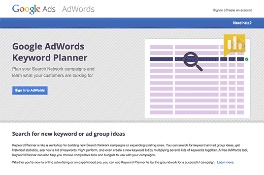 google-keyword-planner-wp-plugin