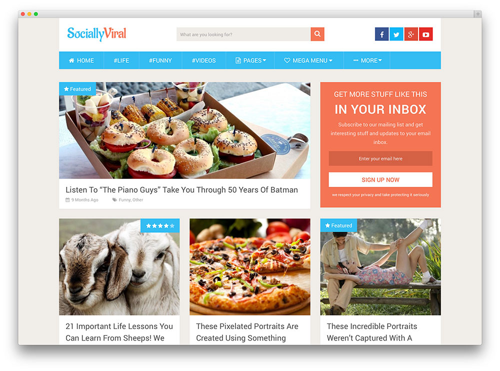 SociallyViral-blog-template
