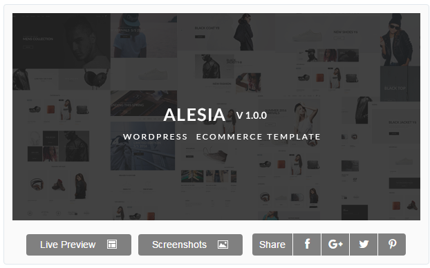 Alesia - Multi-purpose Responsive WordPress Theme