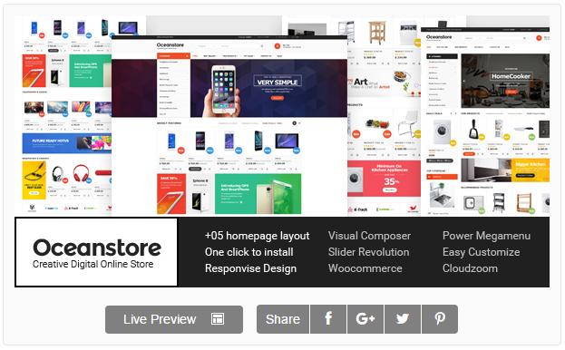 OceanStore - Multipurpose Responsive WooCommerce Theme