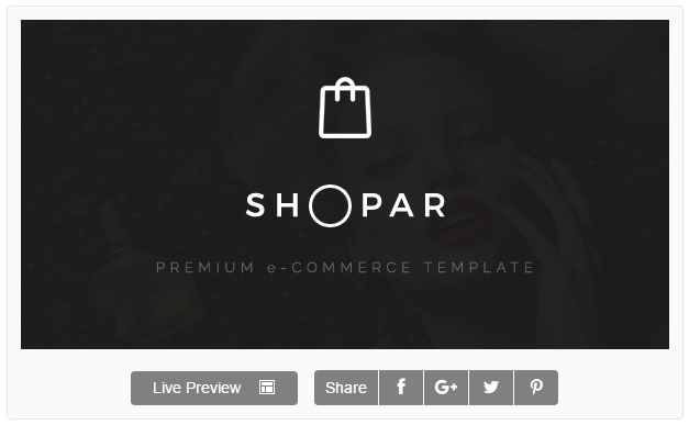 Shopar | Premium eCommerce WordPress Theme