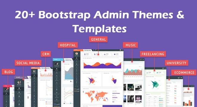 20+ Bootstrap Admin Themes & Templates (Free & Premium Templates) – [Bonus Added]