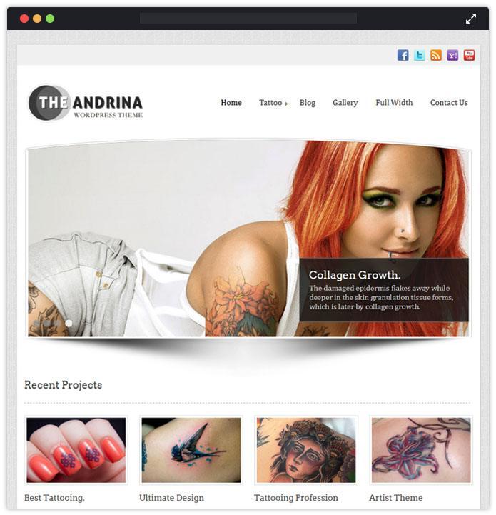 Andrina - WordPress Theme