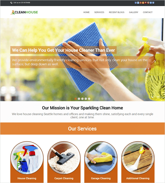 cleanhouse-wordpress-theme