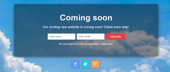 10+ WordPress Under Construction / Coming Soon Themes (Free and Premium)