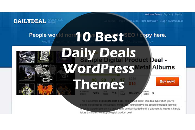10 Best Daily Deals WordPress Themes & Plugins in 2016