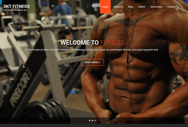 10+ Best Free And Paid WordPress Themes For Gym and Fitness Centers