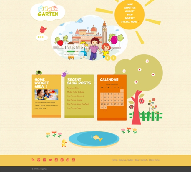 kindergarten-wp-theme