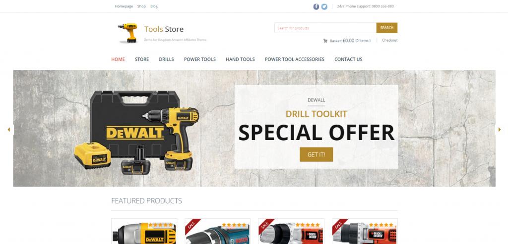 Kingdom WooCommerce Amazon Affiliates Theme