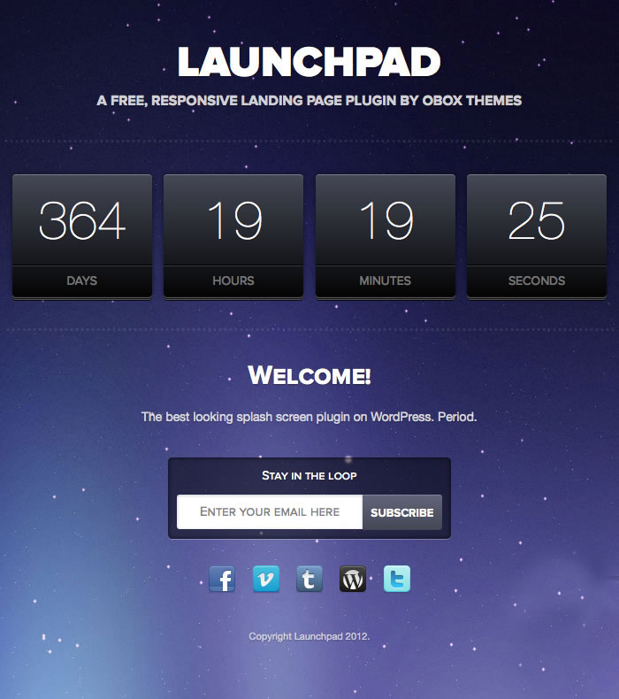 launchpad-wp-theme