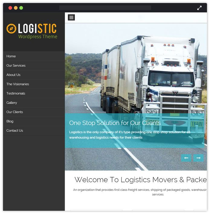 logistic-wordpress-theme
