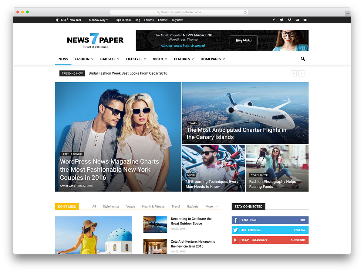 newspaper-most-popular-wp-theme