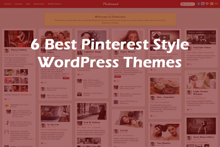 6+ Best Pinterest Style WordPress Themes (Free & Premium)