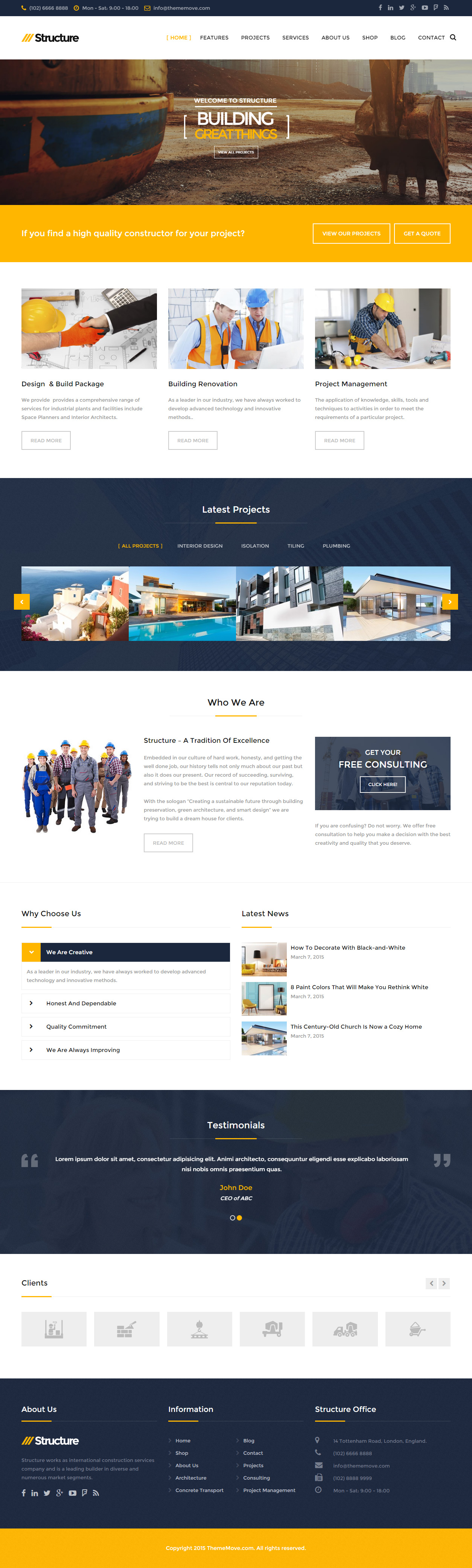 structure-wp-theme
