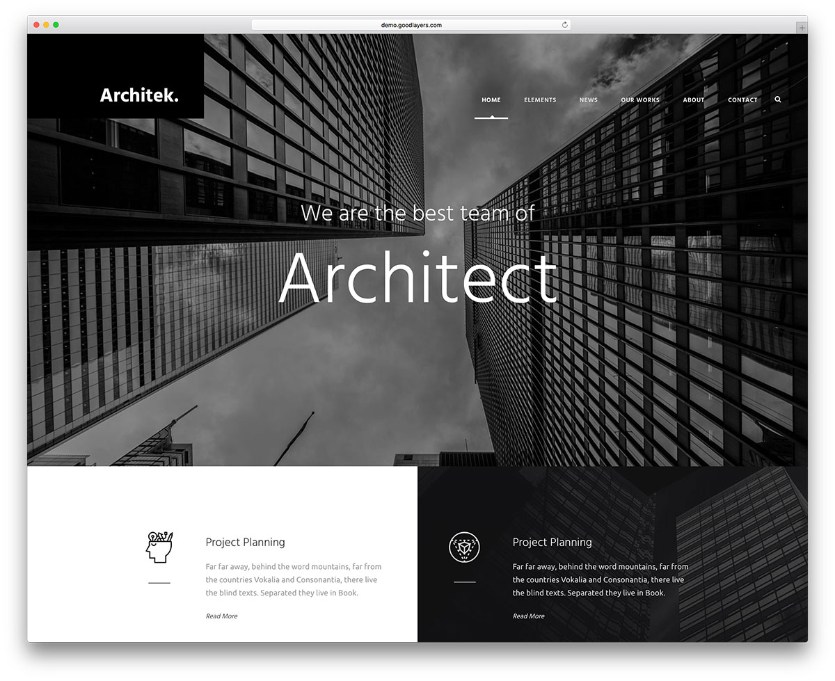 infinite-wp-theme