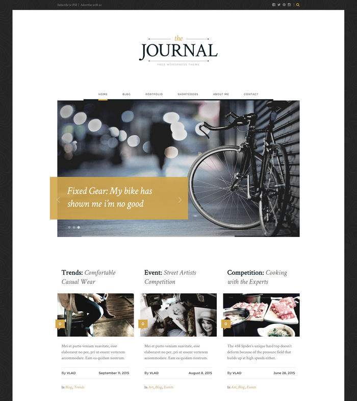 journal-wp-theme