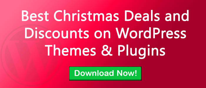 5 Best Christmas Deals and Discounts on WordPress Themes & Plugins for 2018