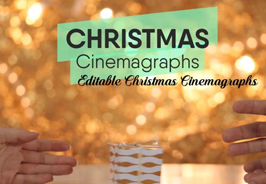 6+ Editable Christmas Cinemagraphs