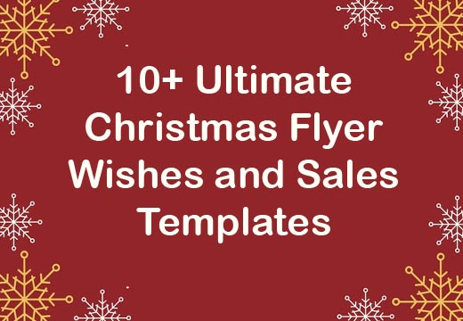 10+ Ultimate Christmas Flyer Wishes and Sales Templates