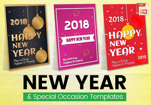 New Year & Special Occasion Templates Design