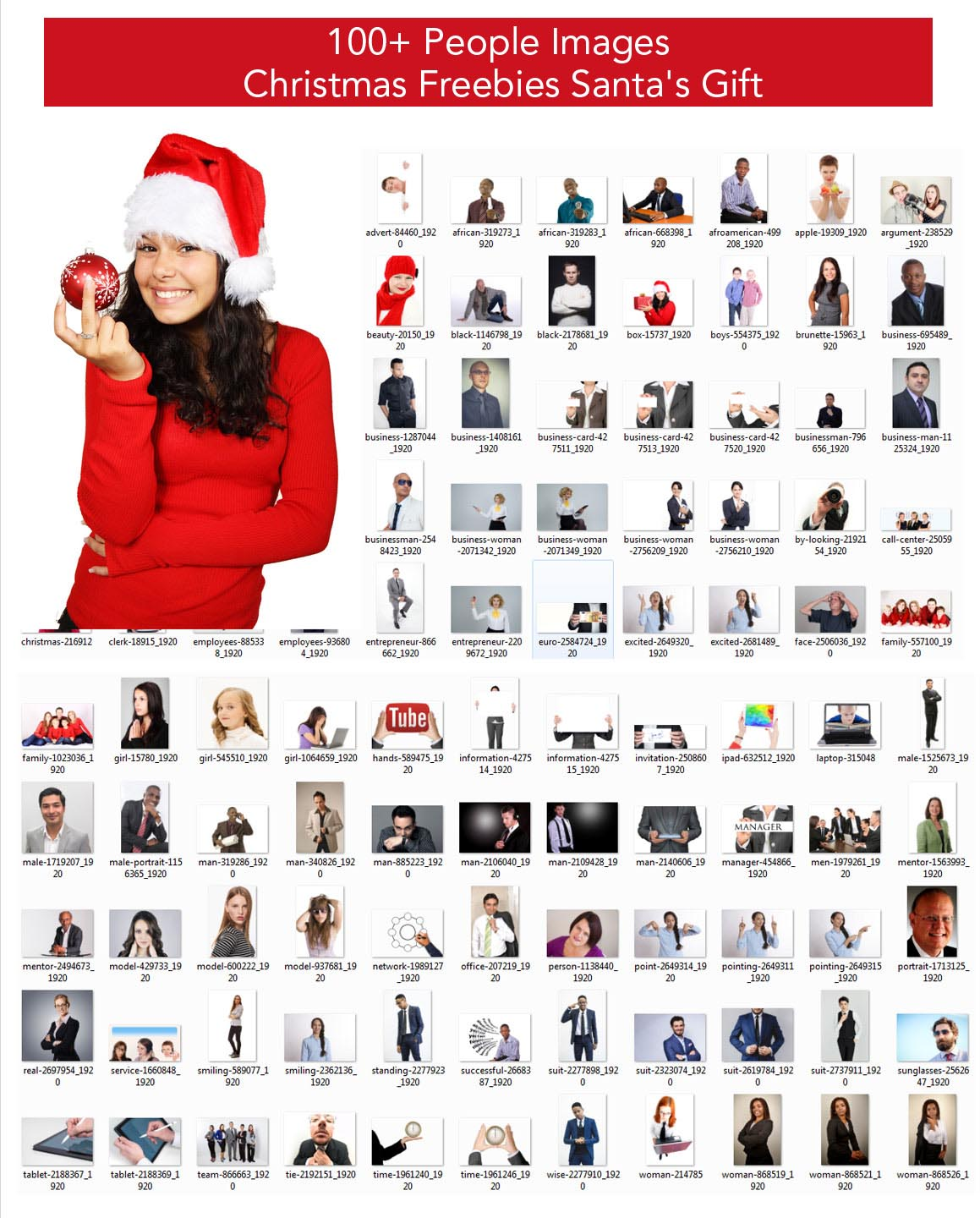 Christmas People Images