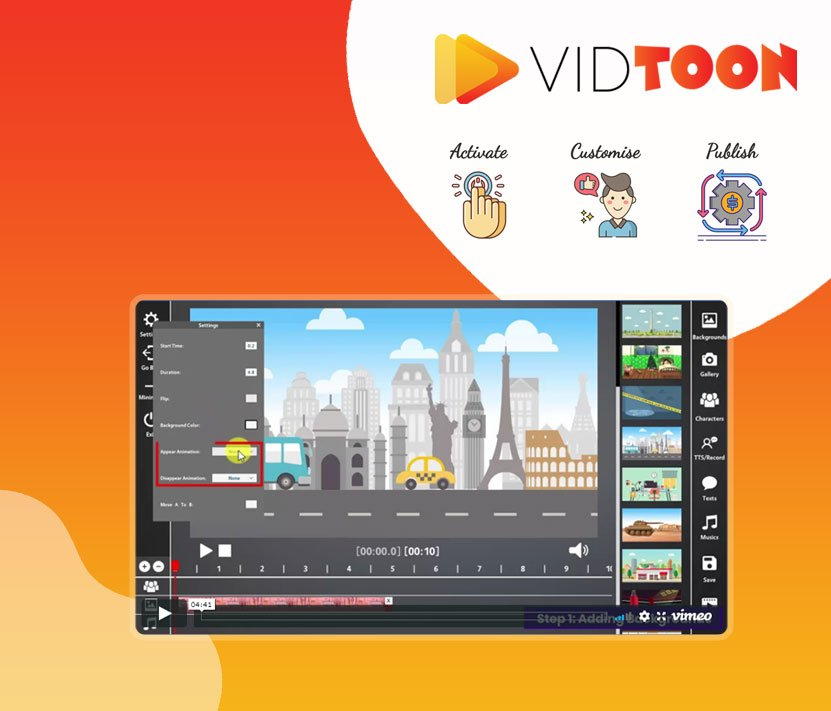 VidToon Lifetime Deal