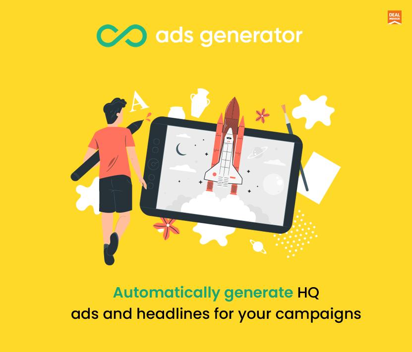 Ads Generator Lifetime Deal