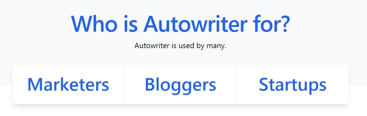 AutoWriter Lifetime Deal