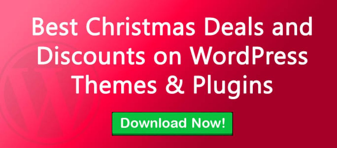 Best Christmas Deals and Discounts on WordPress Themes & Plugins